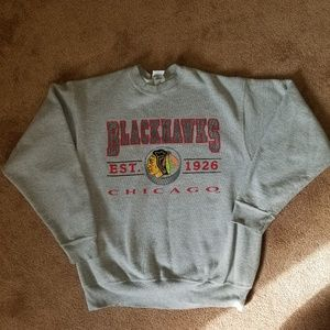 Vintage Chicago Blackhawks Crewneck